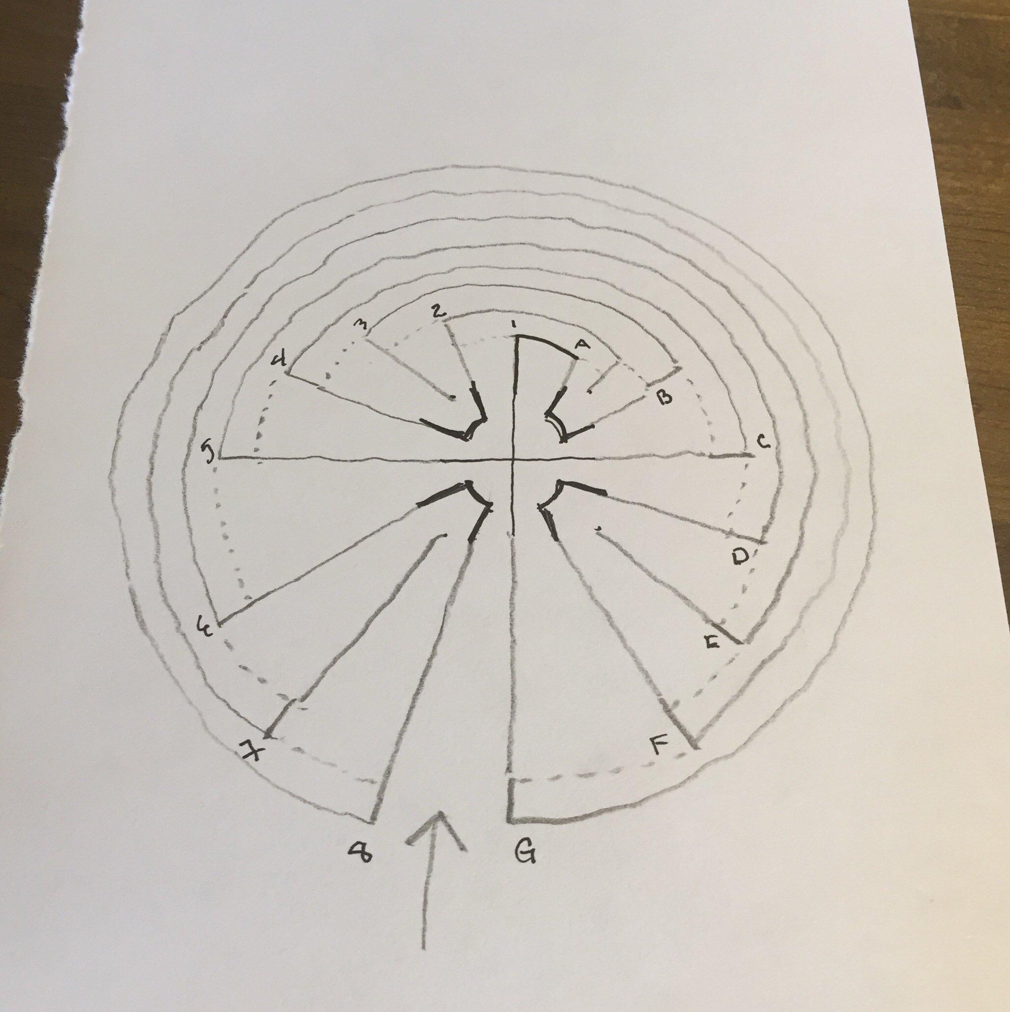 ©️2019 ArtsAmuse - walk the labyrinth - 1