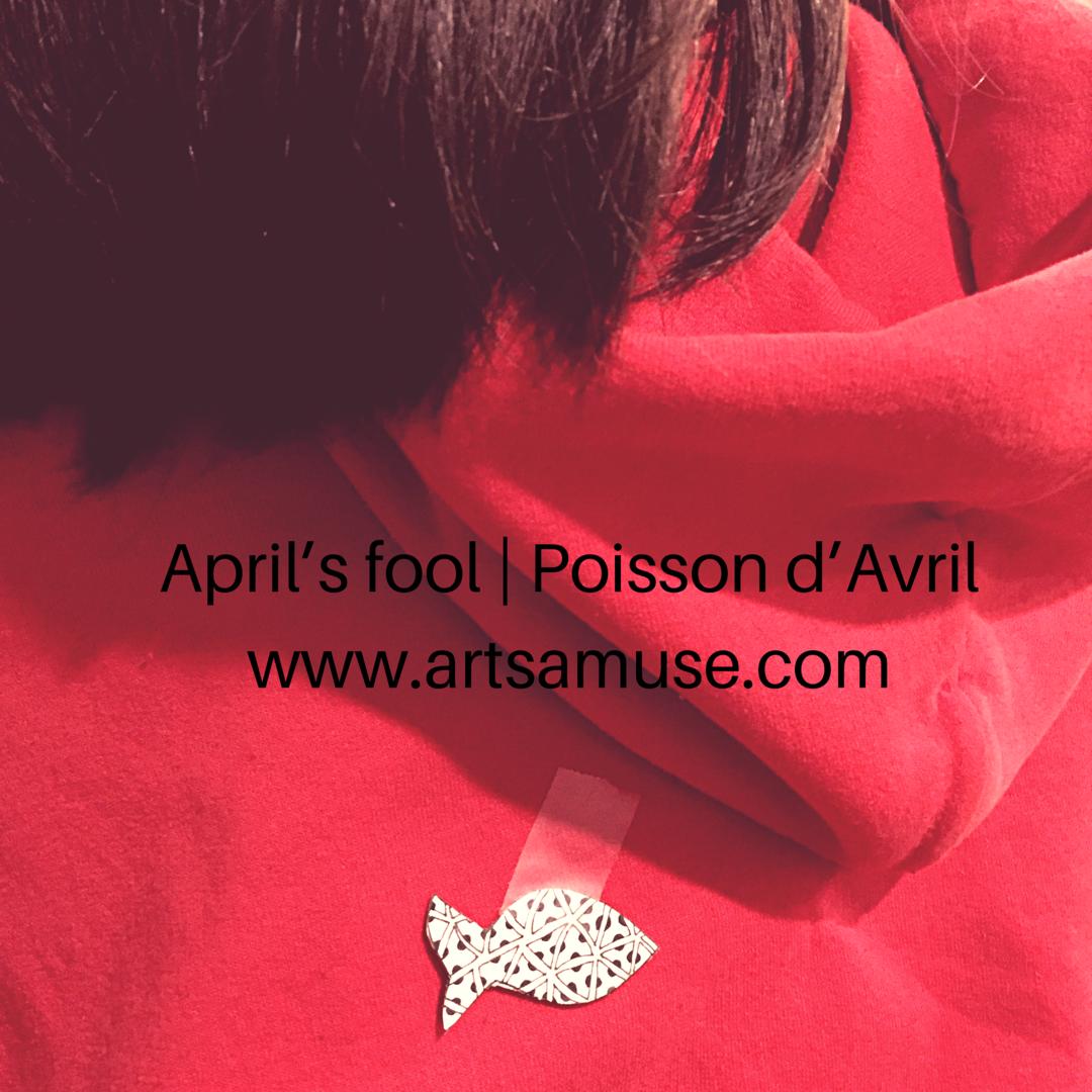 ©️2019 ArtsAmuse - Poisson d'Avril